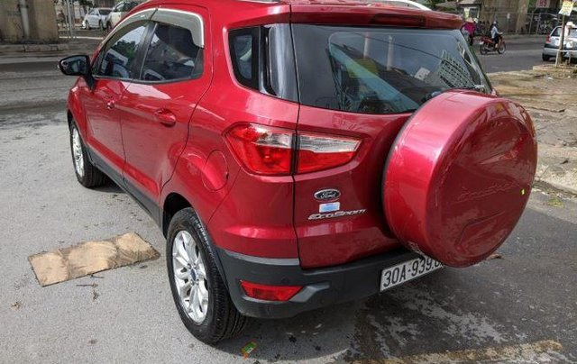 Bán Ford EcoSport sản xuất năm 2015, màu đỏ còn mới0