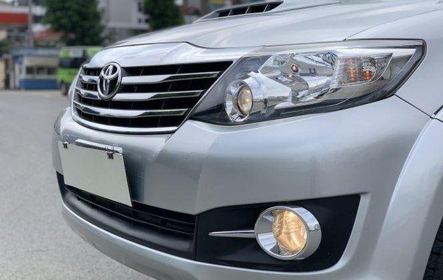 Bán Toyota Fortuner sản xuất năm 2016, màu bạc 2