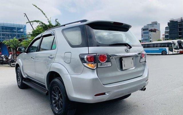 Bán Toyota Fortuner sản xuất năm 2016, màu bạc 4