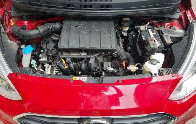 Cần bán xe Hyundai Grand i10 2018, màu đỏ, xe gia đình9