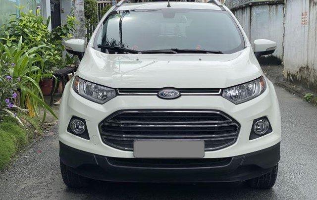 Bán Ford EcoSport năm 2018, màu trắng, full đồ1