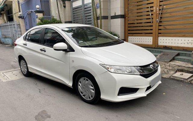 Gia đình bán xe Honda City 2016, màu trắng0