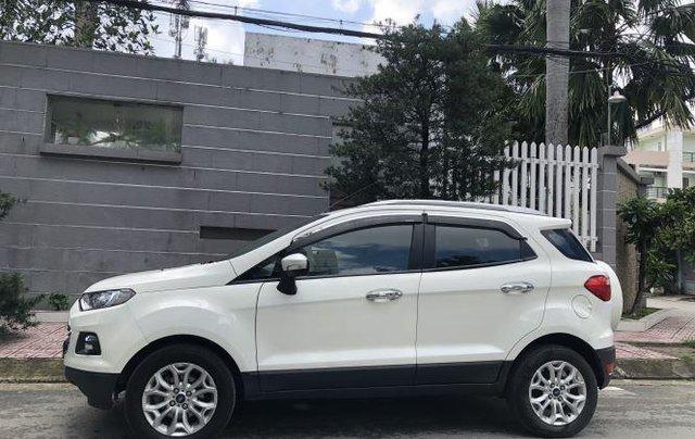 Bán Ford EcoSport Titanium sản xuất năm 2016, màu trắng0