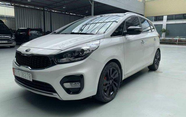 Bán Kia Rondo 2.0 GAT Deluxe 2017, màu trắng, BS TP. HCM2