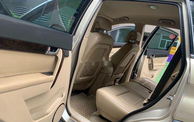 Chính chủ bán lại xe Chevrolet Captiva đời 2009, màu vàng cát11