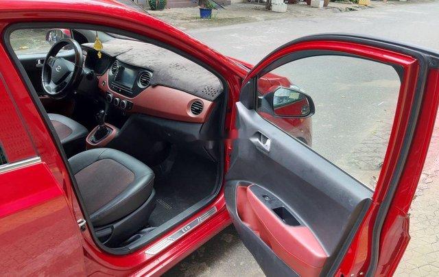 Cần bán xe Hyundai Grand i10 2018, màu đỏ, xe gia đình7