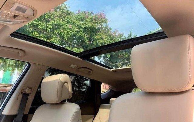 Bán Hyundai Santa Fe đời 2019, màu trắng, bản full option10