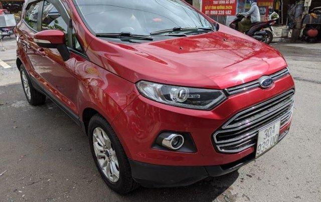 Bán Ford EcoSport sản xuất năm 2015, màu đỏ còn mới3