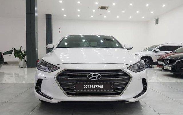 Bán Hyundai Elantra 2.0 AT sản xuất 2016, màu trắng1
