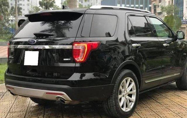 Bán Ford Explorer Limited sản xuất 2016, màu đen, bản full2