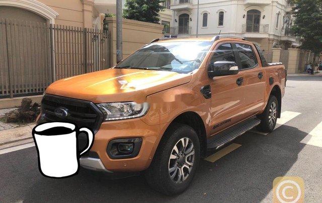 Bán lại xe Ford Ranger Wildtrak Biturbo đời 2019, nhập khẩu số tự động0