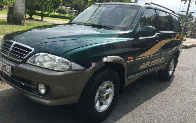 Cần bán xe Ssangyong Musso đời 2003, xe nhập0