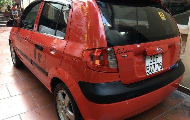 Chính chủ bán Hyundai Getz đời 2007, màu đỏ, nhập khẩu2