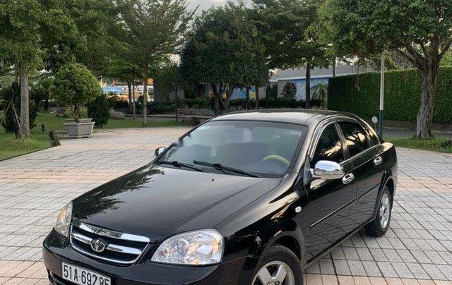Gia đình bán Daewoo Lacetti sản xuất 2009, màu đen1