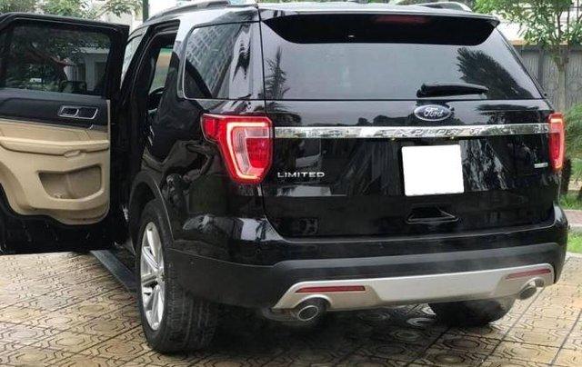 Bán Ford Explorer Limited sản xuất 2016, màu đen, bản full3