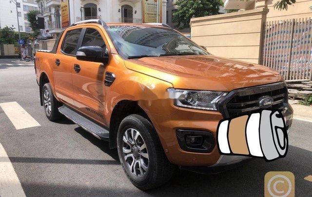 Bán lại xe Ford Ranger Wildtrak Biturbo đời 2019, nhập khẩu số tự động2
