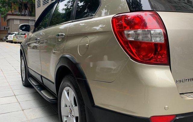 Chính chủ bán lại xe Chevrolet Captiva đời 2009, màu vàng cát5