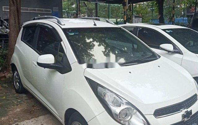 Bán Chevrolet Spark 2014, màu trắng0