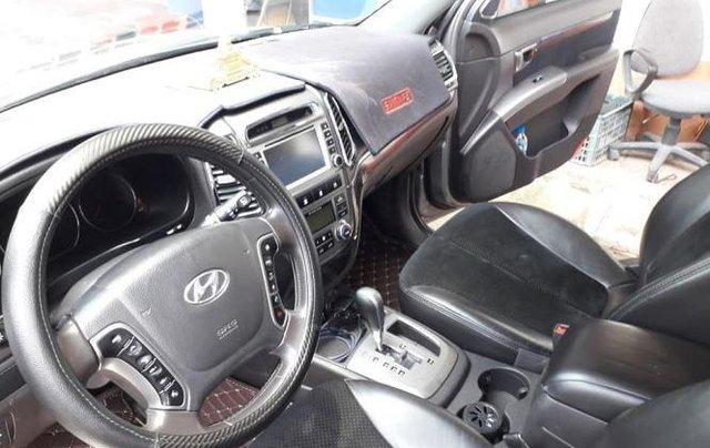 Bán Hyundai Santa Fe đời 2010, màu xám, bản full máy dầu2