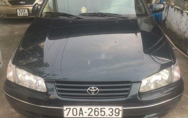 Bán xe Toyota Camry năm sản xuất 1997, màu đen, nhập khẩu 0