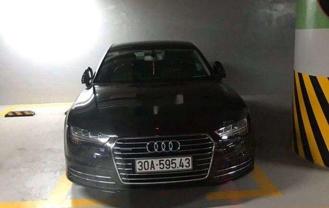 Bán Audi A7 sản xuất 2014, màu đen, nhập khẩu nguyên chiếc0