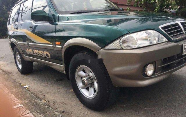 Cần bán xe Ssangyong Musso đời 2003, xe nhập5