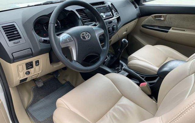 Bán Toyota Fortuner sản xuất năm 2016, màu bạc 7