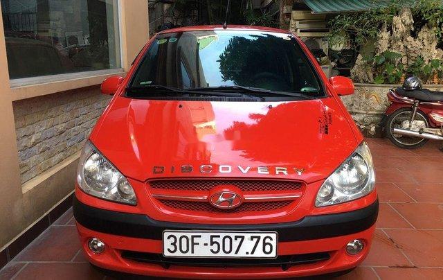 Chính chủ bán Hyundai Getz đời 2007, màu đỏ, nhập khẩu0