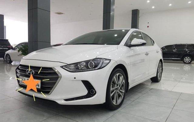 Bán Hyundai Elantra 2.0 AT sản xuất 2016, màu trắng2