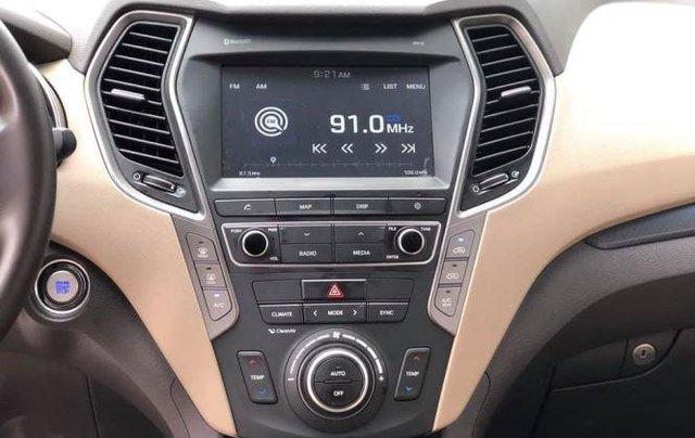 Bán Hyundai Santa Fe đời 2019, màu trắng, bản full option9