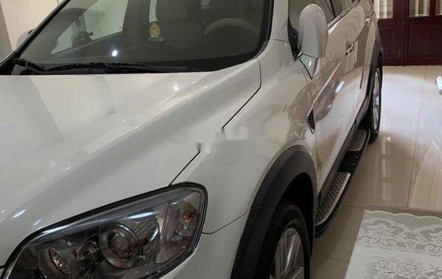 Bán Chevrolet Captiva sản xuất 2011, màu trắng như mới, 369tr1