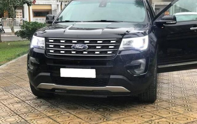 Bán Ford Explorer Limited sản xuất 2016, màu đen, bản full0