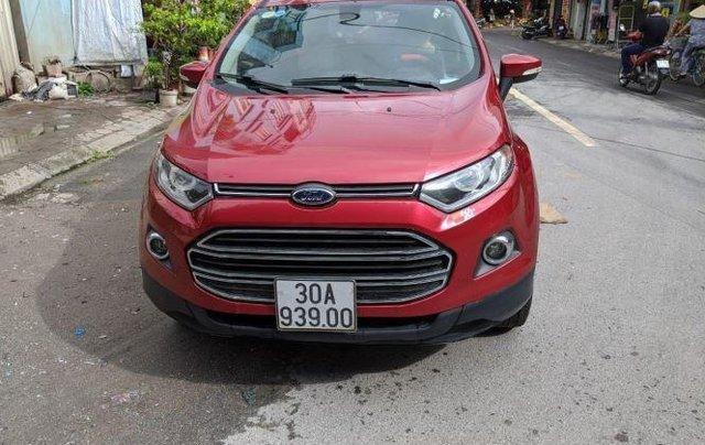 Bán Ford EcoSport sản xuất năm 2015, màu đỏ còn mới4