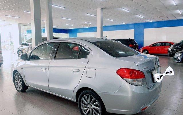 Cần bán Mitsubishi Attrage năm sản xuất 2016, màu bạc, nhập khẩu2