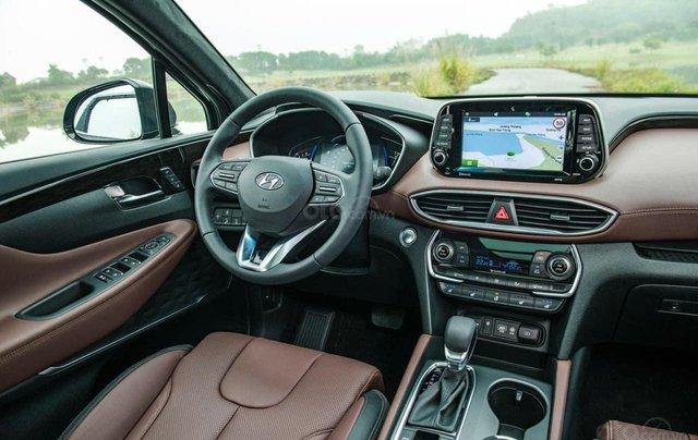 Hyundai Santa Fe đủ màu giảm ngay - siêu khuyến mãi khủng - Giảm ngay 50% thuế trước bạ1