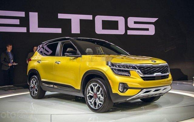Bán xe Kia Seltos đời 2020, màu vàng 0