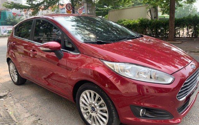 Bán Ford Fiesta năm 2017, màu đỏ xe nhập giá chỉ 420 triệu đồng0
