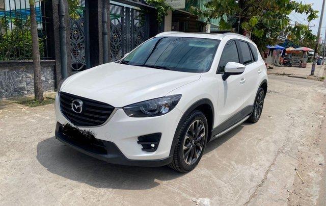 Cần bán xe Mazda CX 5 đăng ký 2016, màu trắng ít sử dụng, giá tốt 708 triệu đồng1