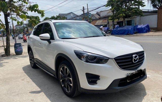 Cần bán xe Mazda CX 5 đăng ký 2016, màu trắng ít sử dụng, giá tốt 708 triệu đồng3
