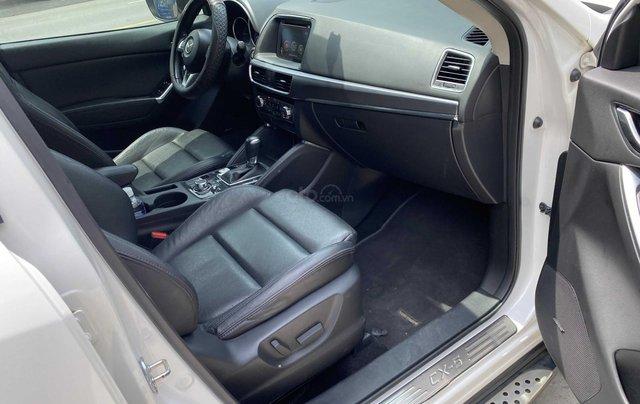 Cần bán xe Mazda CX 5 đăng ký 2016, màu trắng ít sử dụng, giá tốt 708 triệu đồng7