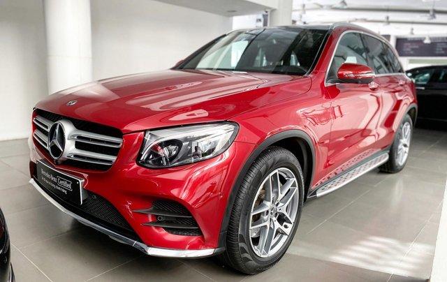 Mercedes GLC300 AMG màu đỏ siêu lướt, giá cực tốt - Xe đã qua sử dụng chính hãng0