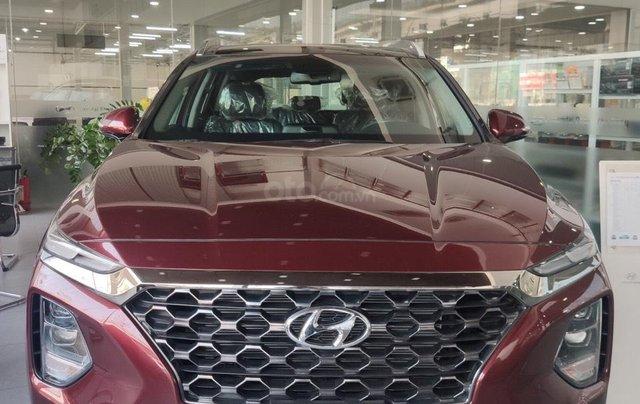 Hyundai Santafe 2020 giá tốt miền Bắc giảm thuê 50%, trả góp 85%, tặng kèm bộ quà tặng DV, đủ màu xe giao ngay0