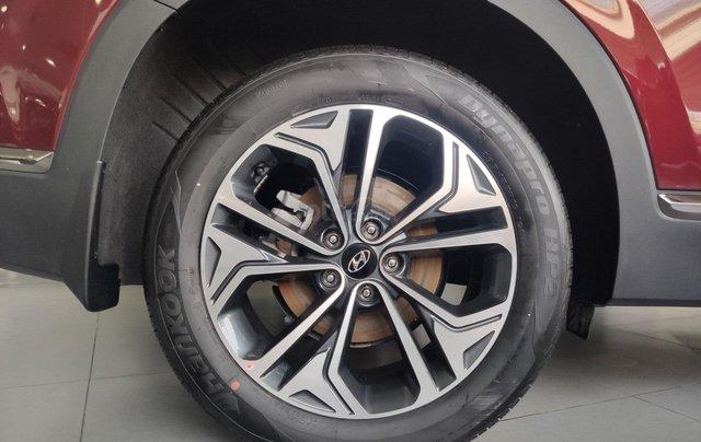 Hyundai Santafe 2020 giá tốt miền Bắc giảm thuê 50%, trả góp 85%, tặng kèm bộ quà tặng DV, đủ màu xe giao ngay5