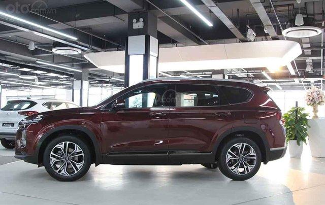 Hyundai Santafe 2020 giá tốt miền Bắc giảm thuê 50%, trả góp 85%, tặng kèm bộ quà tặng DV, đủ màu xe giao ngay3