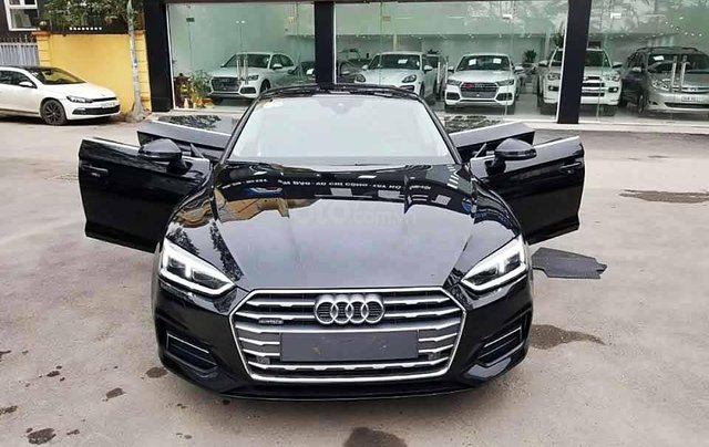 Bán xe Audi A5 năm 2017, màu đen, xe nhập còn mới0