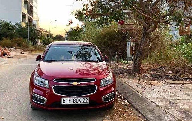 Bán xe Chevrolet Cruze LTZ 1.8 AT năm sản xuất 2016, màu đỏ3