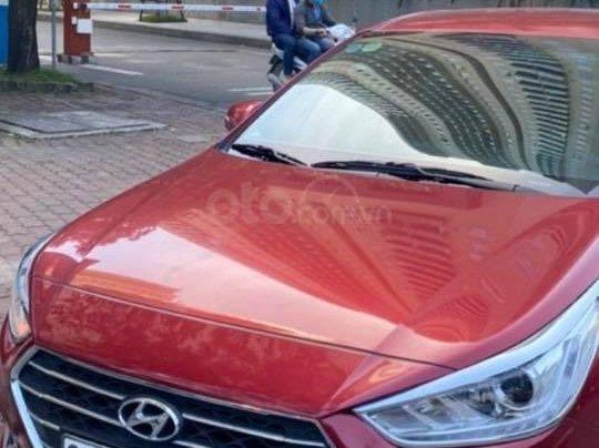Bán xe Hyundai Accent AT sản xuất 2019, màu đỏ1