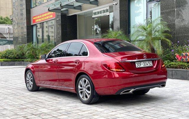 Cần bán xe Mercedes C200 sản xuất 2016, màu đỏ1