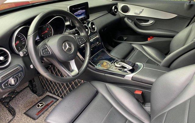 Cần bán xe Mercedes C200 sản xuất 2016, màu đỏ2
