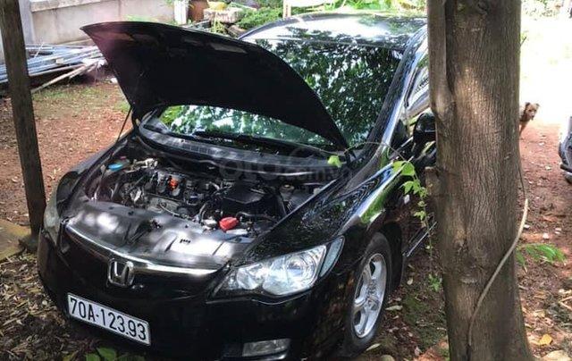 Bán xe Honda Civic 2007, màu đen0